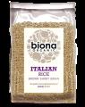 Orez italienesc brun si organic cu bobul scurt 500g