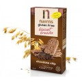 Biscuiti din ovaz integral cu bucati de ciocolata 160g