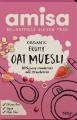 Muesli organic cu ovaz si fructe 325g
