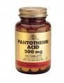 Solgar Pantothenic acid 200mg 100 tabs