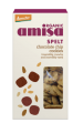 Biscuiti din grau spelt cu bucati de ciocolata 150g