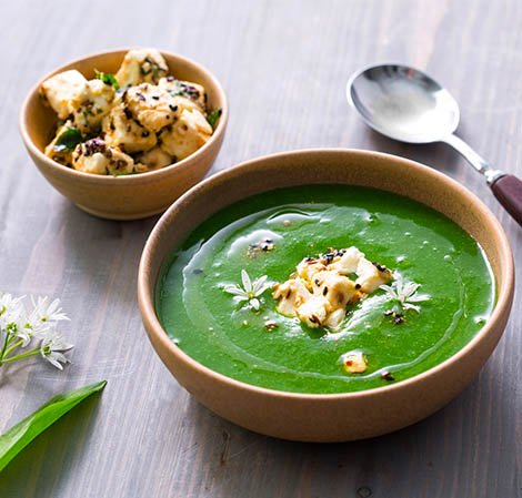 Supa de leurda - Vitamix Romania