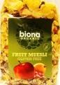 Muesli organic cu fructe 500gr